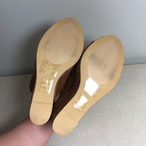 Express Shoes - NWT Express Platform Cork Wedge Sandals Size 7.5